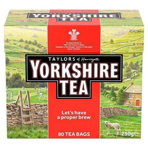Yorkshire 80tea bags
