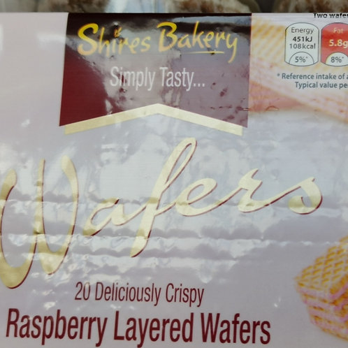 Wafers raspberry layered wafers 2 for
