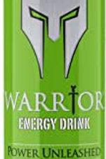 Warrior Fizzy Apple energy 24 x 250ml
