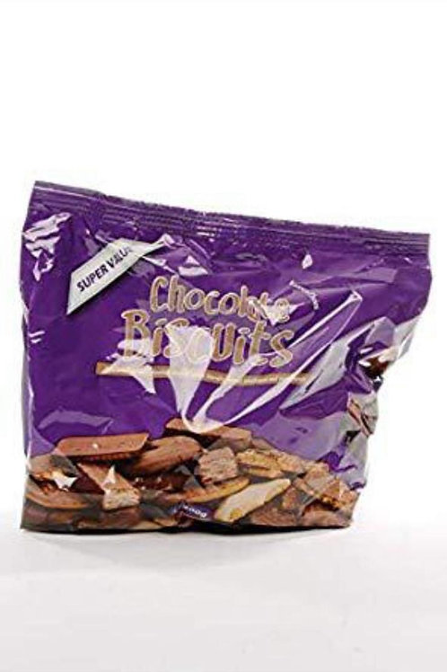 Super value chocolate biscuits 400g