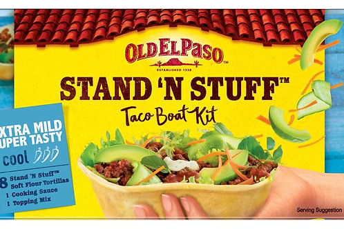 Old el paso stand N stuff extra mild 2