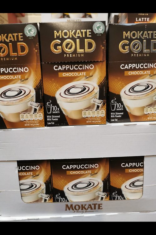 Mokate Cappuccino Chocolate 10 sachet box