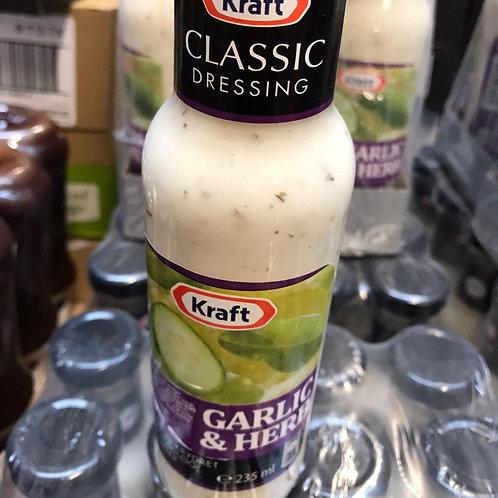 Classic dressing garlic & herb