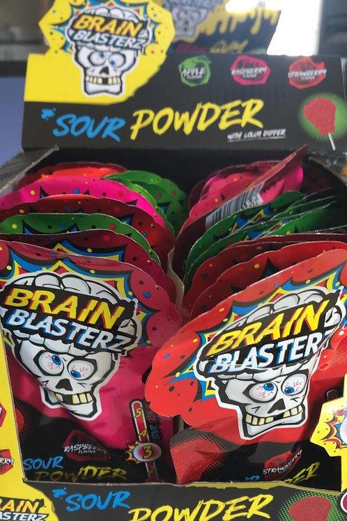 Brain blaster sour powder 10 for