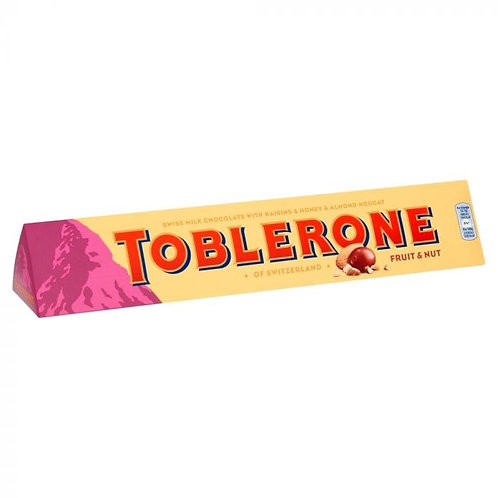 Toblerone fruit and nut 360g
