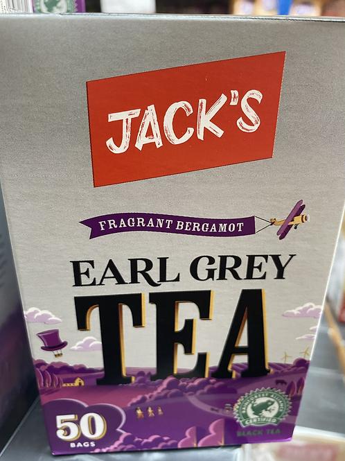 JACKS Earl Grey tea 50bags