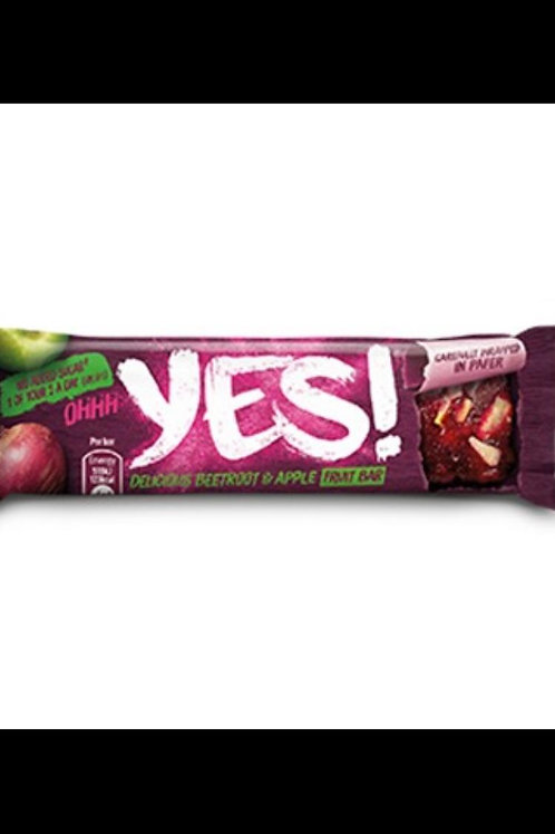 Yes bar beetroot and apple bars 3 for