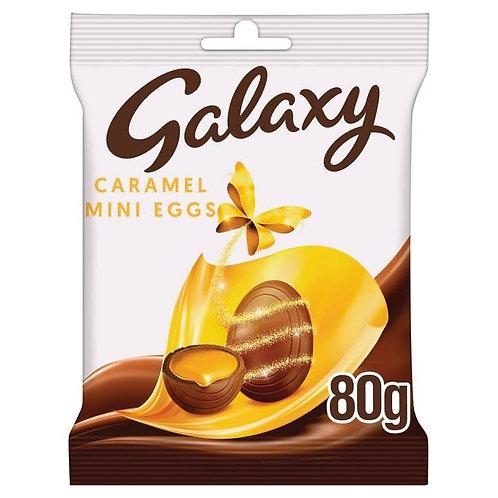 Galaxy Caramel mini eggs 80g x 2