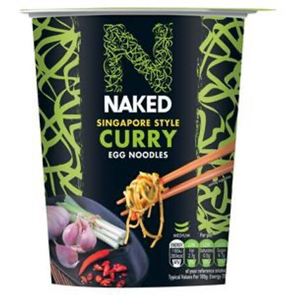 Naked noodle Singapore curry 4 x 78g
