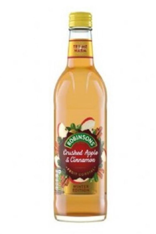 Robinson's Apple/cinnamon cordial 2 for