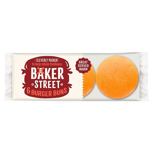 Baker greet 6 burger buns