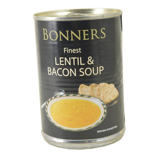 Bonners lentil and Bacon soup 400g