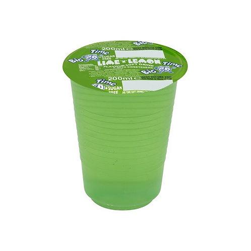 Big time lime and lemon sf cup drinks x 24
