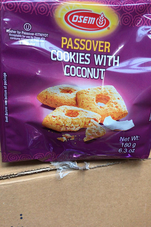 Passover cookies with coconut