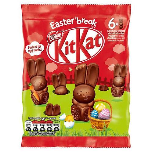 Kitkat Easter bunny's 66g x 2