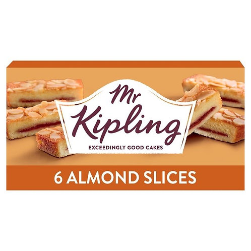Mr Kipling 6 Almond slices 2 for