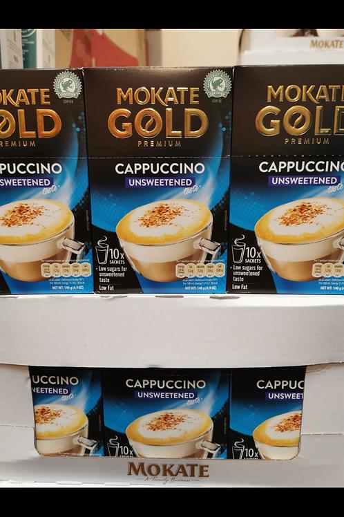 Mokate cappuccino unsweetened  10 sachet box