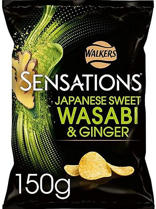 Sensations Japanese sweet wasabi & ginger 2 x 150g