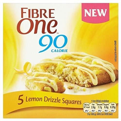 Fibre  one lemon drizzle 2 x 5pk