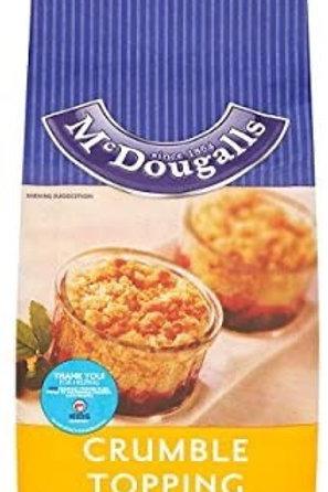 Mcdougalls crumble mix 3.5G