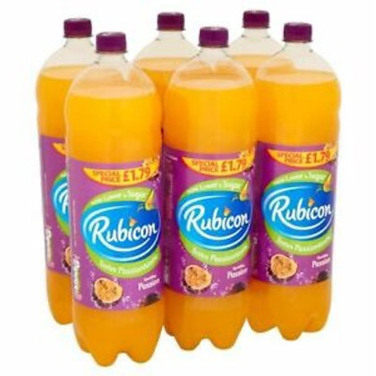 Rubicon passion fruit 6x 2ltrs