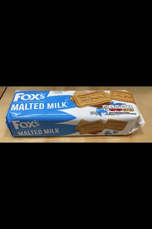 Fox's malted milk 200g