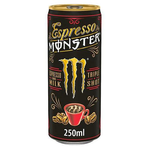 Monster espresso with milk 12 x 250g