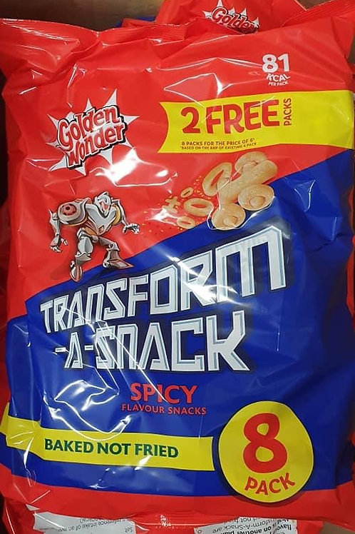 Transform a snack spicy 8 pack x 2