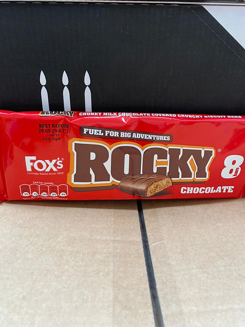 Fox's rocky chocolate 8 bar pk 2 for