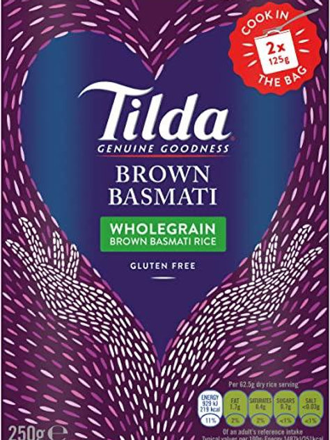 Tilda wholegrain rice 2 x 125g