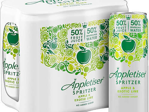 Appletiser Apple and exotic lime 24X250ml