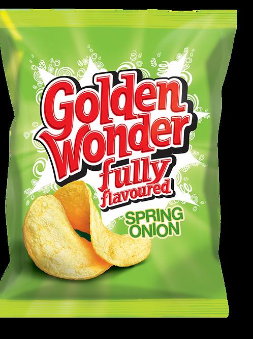 Golden Wonder crisps Spring onion 15 x 75g