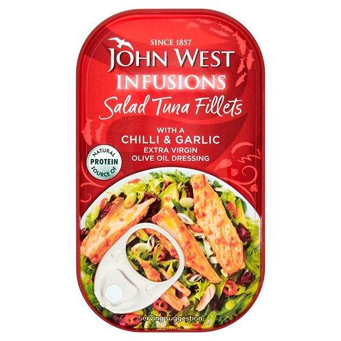 John West Salad infusion Chilli  and Garlic 115g