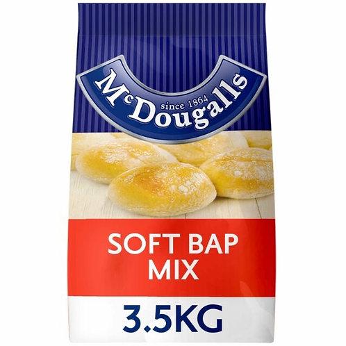 Mcdougalls soft bap  mix 3.5kg