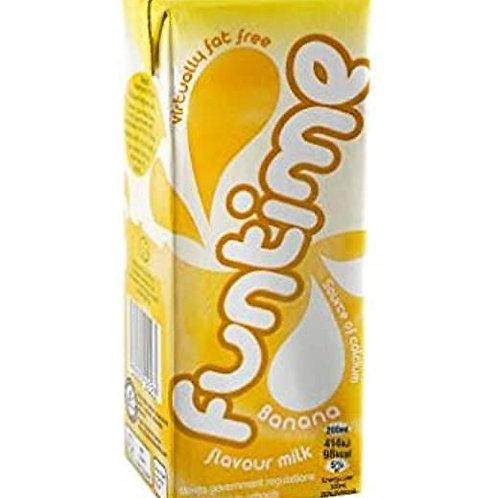 Funtime  Banana Milk 30 x 200ml