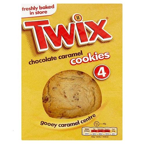 Twix 4 cookies Chocolate caramel