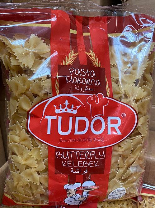 Tudor pasta butterfly 400g 3 for
