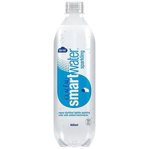 Glacier sparkling smart water 24 x 600ml