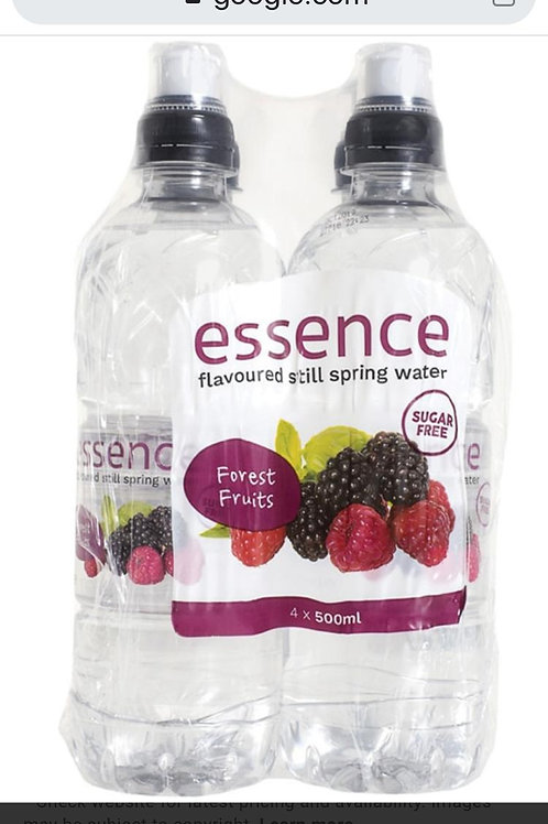 Essence flavoured water.Forest fruit 24 x 500ml