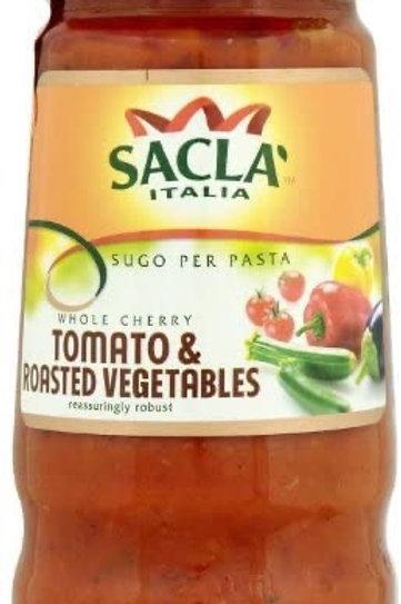 Sacla Cherry Tom & grilled Veg 350g