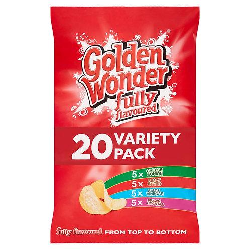G/W  20 variety pack crisps
