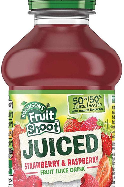 F/S juiced Strawberry/Raspberry 24 x 200ml