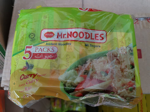 Noodles curry flavour 5 pack