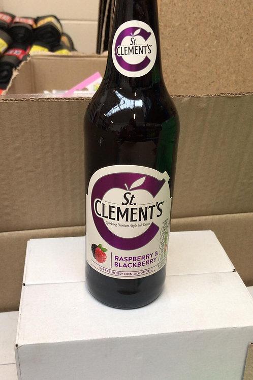 St clement's raspberry & blackberry 8X500ml