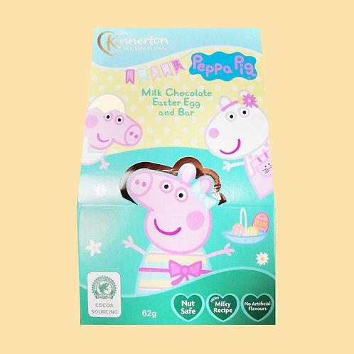 Kinnerton Peppa pig Easter egg 62g 3 for