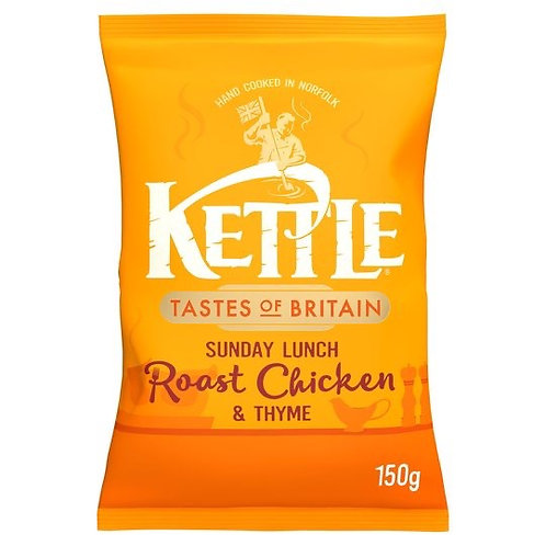 Kettle chips Sunday lunch  roast chicken and thyme 150g x2
