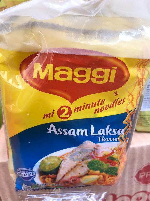 Maggi assam laksa flavour 5 in a pack