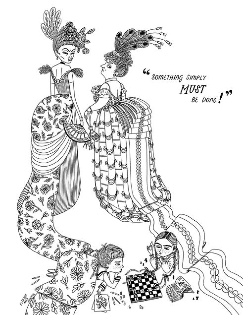 Eleanor Rees Howell Free Colouring Page