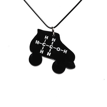Ethyl Molecule Skate Pendant