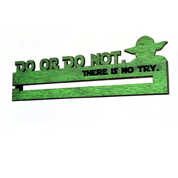 Do or Do Not Medal Display